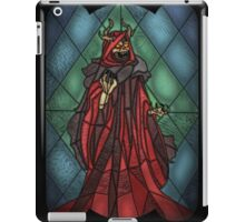 King of the undead - Stained Glass Villains iPad Case/Skin