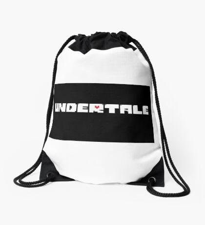 Cool Undertale T-shits & Stuff Drawstring Bag