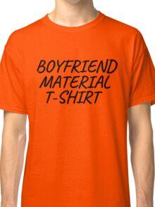 Boyfriend Gift T-Shirts Classic T-Shirt