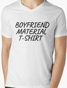 Boyfriend Gift T-Shirts Mens V-Neck T-Shirt