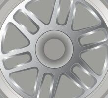 Seb Vettel - Tyre Sticker