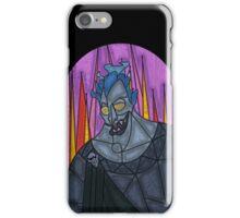 Underworld God - stained glass villains iPhone Case/Skin