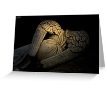 Fallen Angel Greeting Card