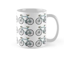Drawing of a bike (fixed gear) - wallpaper design Mug