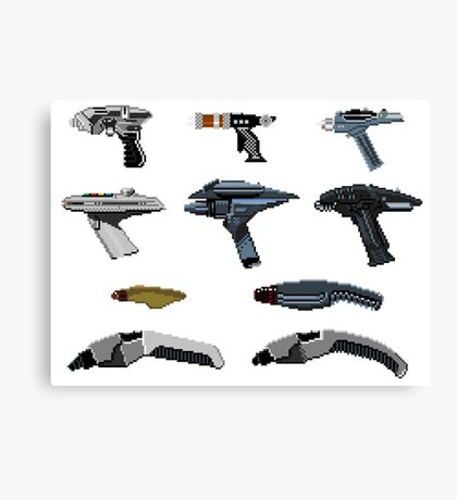 Guns of Trek Canvas Print