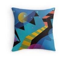 Stairway to Stars Throw Pillow