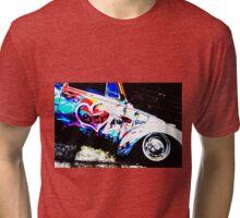 Instead of Scrapyard Heaven ~ 'Time' ~ pop style Tri-blend T-Shirt