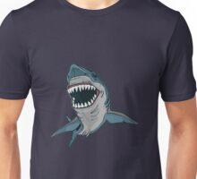 Shark in blue Unisex T-Shirt