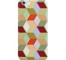 Cubic Pattern iPhone Case/Skin