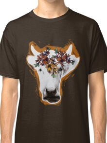 Hand drawn cow lady. Classic T-Shirt