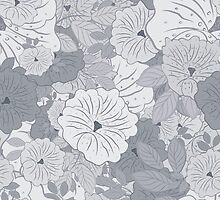 Floral Seamless Pattern by Olga Altunina
