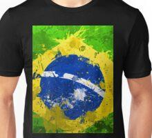 Brasil Flag Unisex T-Shirt