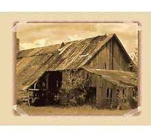 """Timeworn Photo Albums and Golden Days""... prints and products Photographic Print"