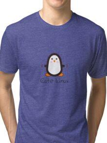 Cute Linux Tri-blend T-Shirt