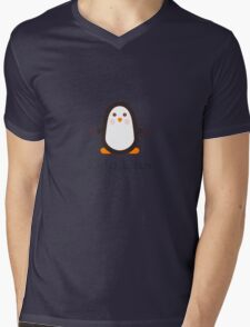 Cute Linux Mens V-Neck T-Shirt