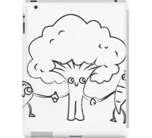 Veggie Friends BW iPad Case/Skin