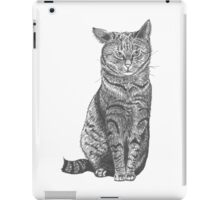 Cat droopy ear, graphic iPad Case/Skin