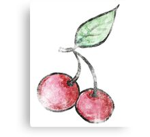 Vintage Cherries Canvas Print
