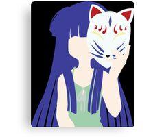 Higurashi When They Cry Furude Rika Anime Manga Shirt Canvas Print