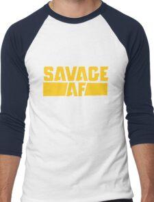 Savage AF Men's Baseball ¾ T-Shirt