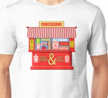 Movie Theater Concessions Stand  Unisex T-Shirt