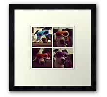 Teenage Mutant Ninja Dog Framed Print
