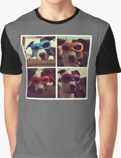 Teenage Mutant Ninja Dog Graphic T-Shirt