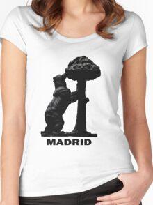 Madrid El Oso y El Madroño Women's Fitted Scoop T-Shirt