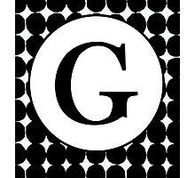 G Bubble Photographic Print