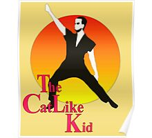 The Cat Like Kid Poster