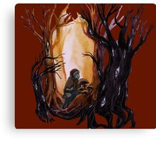 Nature_is_watching Canvas Print