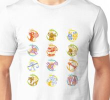 Maya art stylized zodiac signs  Unisex T-Shirt