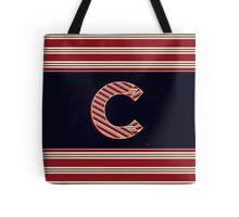 BROOKLINER BOSTON 1920s MONOGRAM initial  C Tote Bag