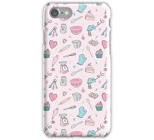 Pink Baking Pattern iPhone Case/Skin