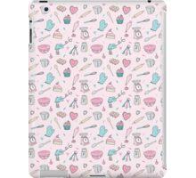 Pink Baking Pattern iPad Case/Skin
