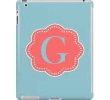 G Cloudy iPad Case/Skin