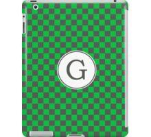 G Checkard II iPad Case/Skin