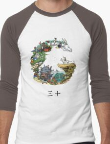 Studio Ghibli Men's Baseball ¾ T-Shirt