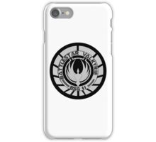 Battlestar Valkyrie Logo iPhone Case/Skin