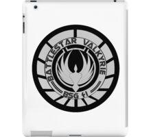 Battlestar Valkyrie Logo iPad Case/Skin