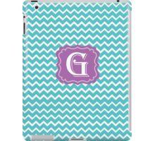 G turquois iPad Case/Skin