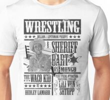 BLAZING SADDLES WRESTLING Unisex T-Shirt