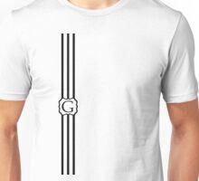 G Turquois Chevron II Unisex T-Shirt