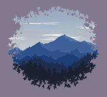 Mountain Landscape Kids Tee