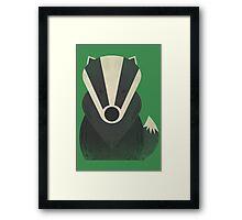 Mr Badger Framed Print
