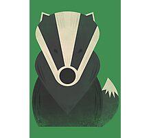 Mr Badger Photographic Print