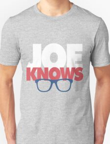 Joe Knows Baseball Unisex T-Shirt