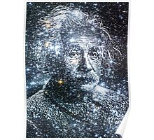 Albert Einstein Star Mind Very Large Poster Poster