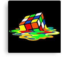 Rubik's Cube Cool Geek Canvas Print