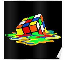 Rubik's Cube Cool Geek Poster